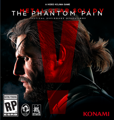 The Phantom Pain Font