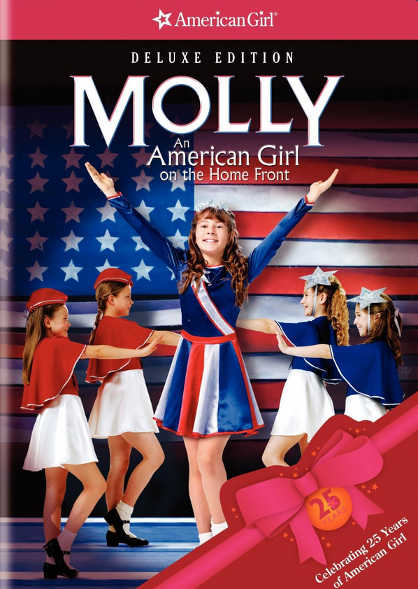 molly an american girl poster