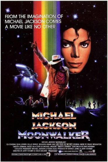 Moonwalker (film) Font