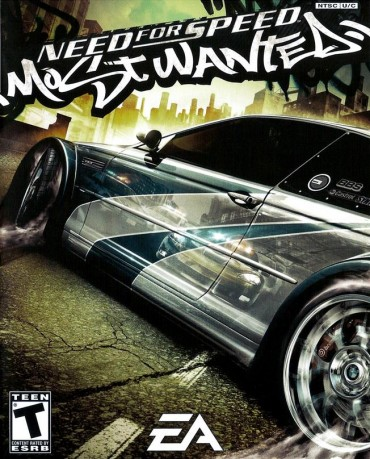 Need for Speed Most Wanted Font