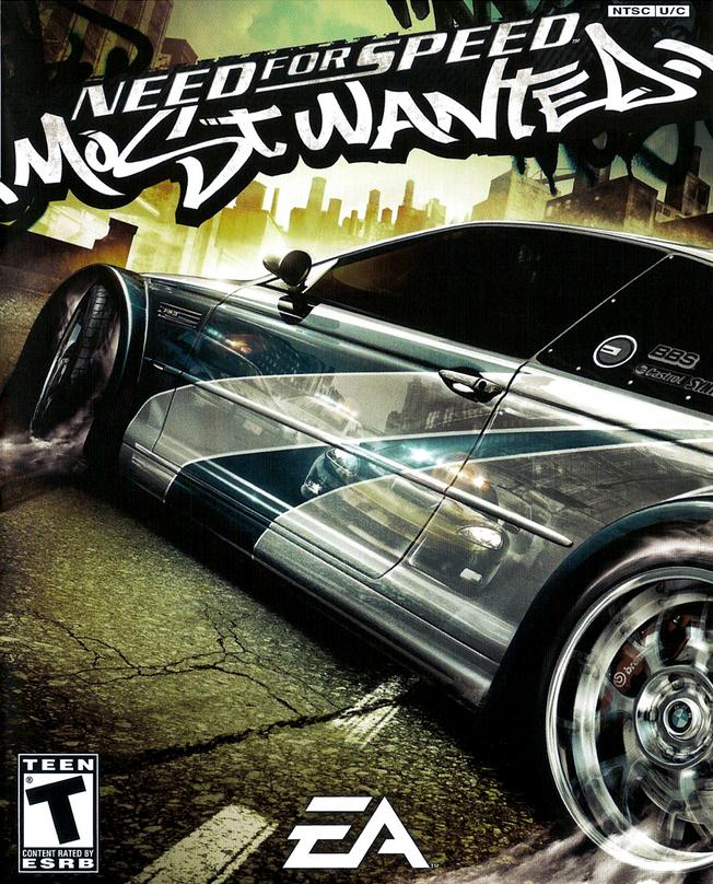most wanted nfs font