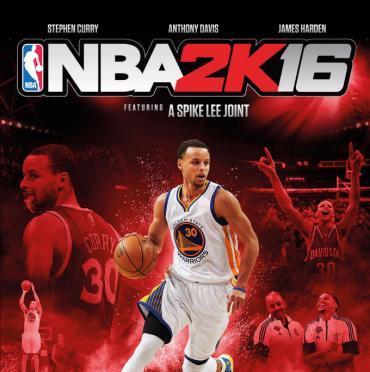 NBA 2K16 Logo Font