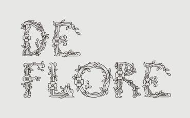 De Flore – Free Floral Font