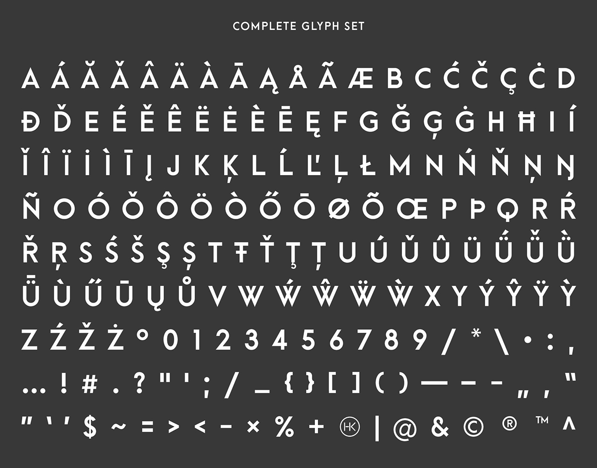 Arca Majora – Free Geometric Sans Font Poster D