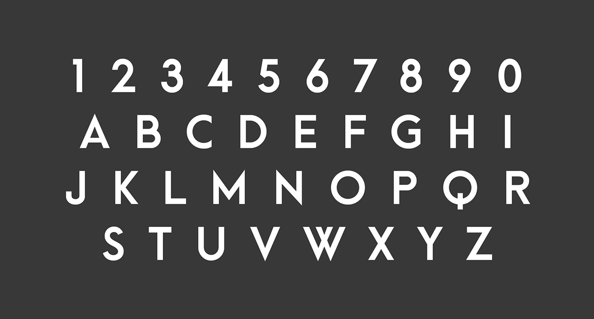 Arca Majora – Free Geometric Sans Font Poster C
