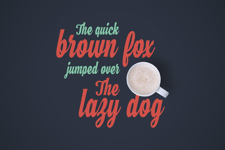 Hamster – Free Brush Script Font Poster D