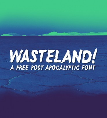 Wasteland – Free Post Apocalyptic Font