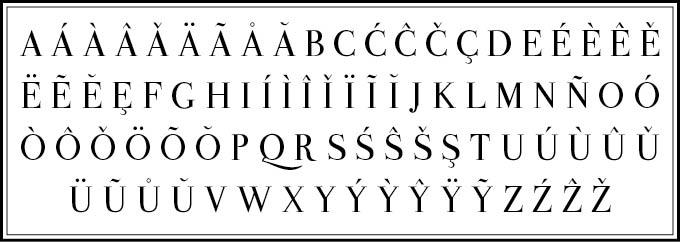 Valentina – Free Antique Didone Font Poster B