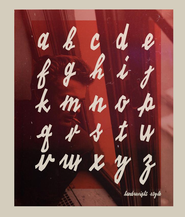 KINO 40 – Free Handwritten Font Poster B
