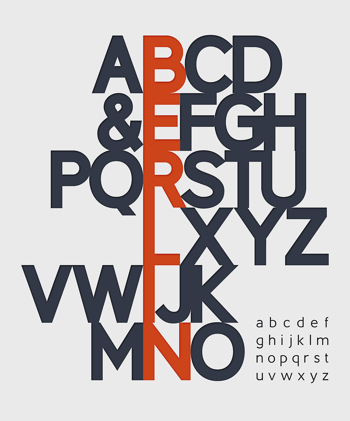 Berlin – Free Headline Fonts Poster A