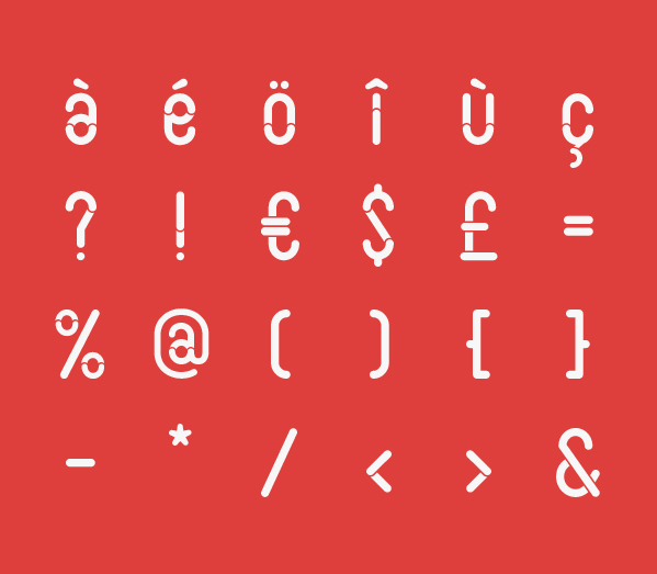 Slot – Free Rounded Font Poster E