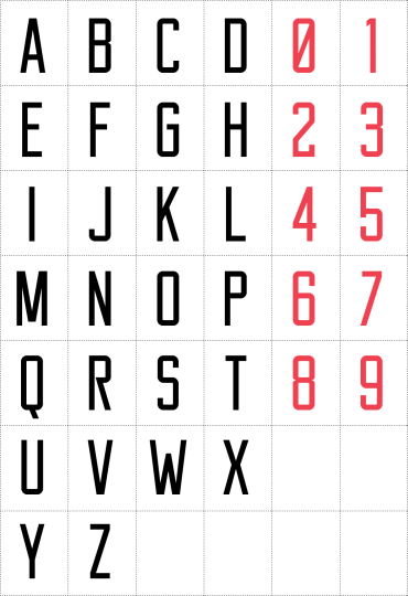 Reckoner – Free Industrial Sans Serif Font
