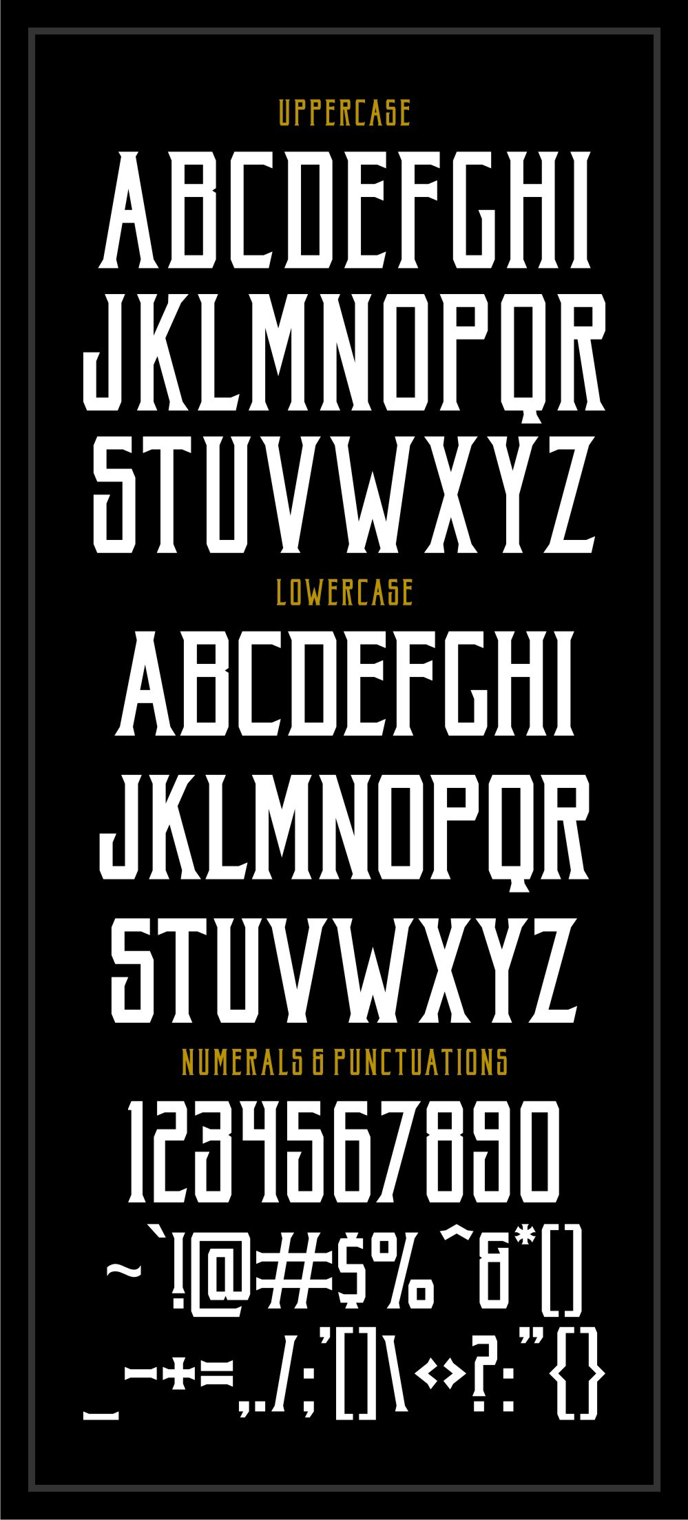 Akura Popo – Vintage & Condensed Serif Font Poster B