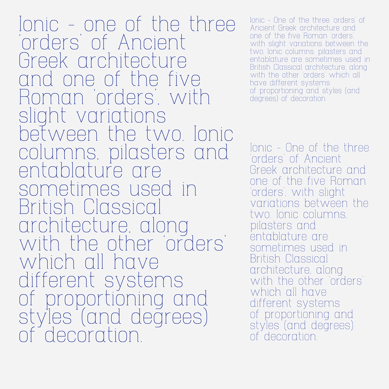 Hapna Mono – Free Monospaced Serif Font Poster D