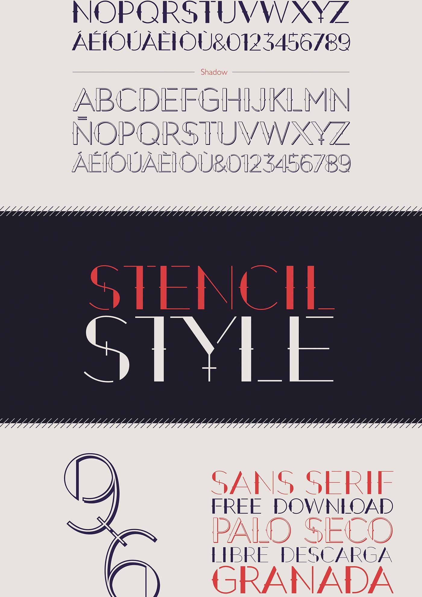 September – Free Decorative Font Poster C