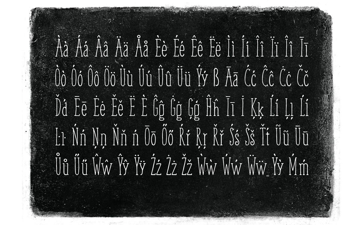 Weem – Free Handwritten Serif Font Poster D