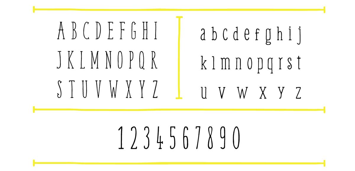 Weem – Free Handwritten Serif Font Poster B