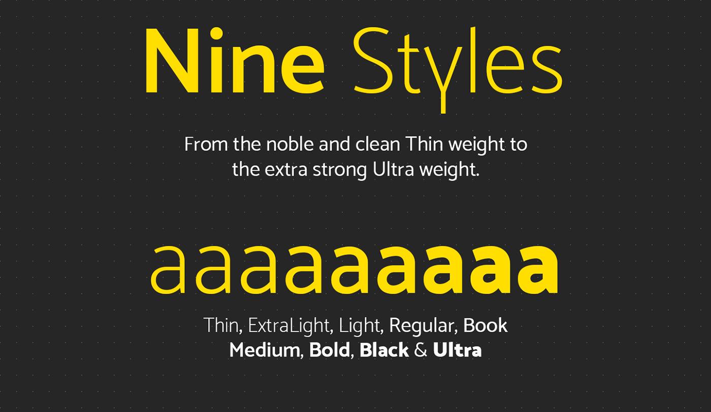 Mosk – Free Clean Sans Serif Font Poster B