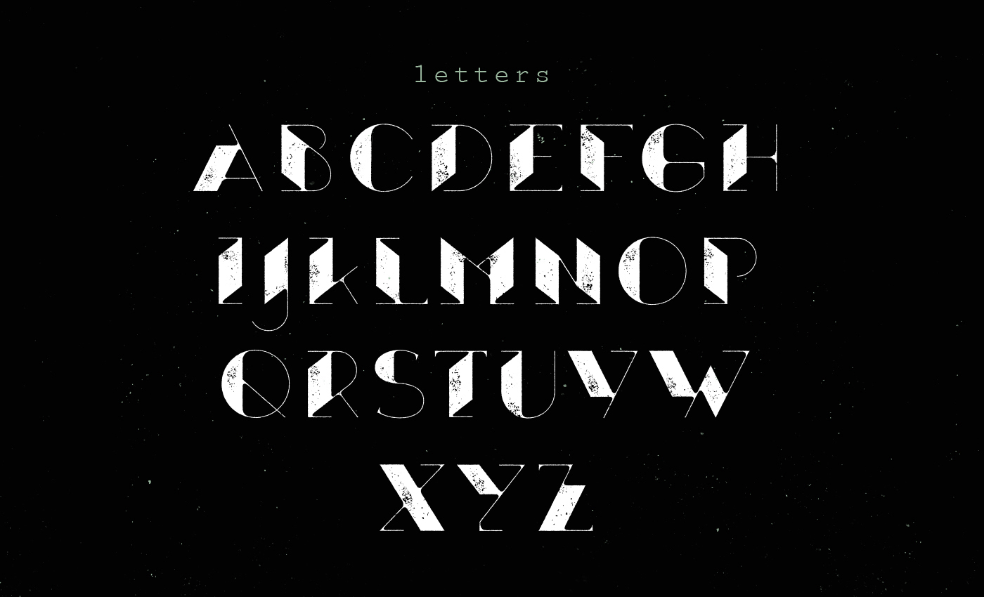 Xthlx – Free Futuristic Font Poster B