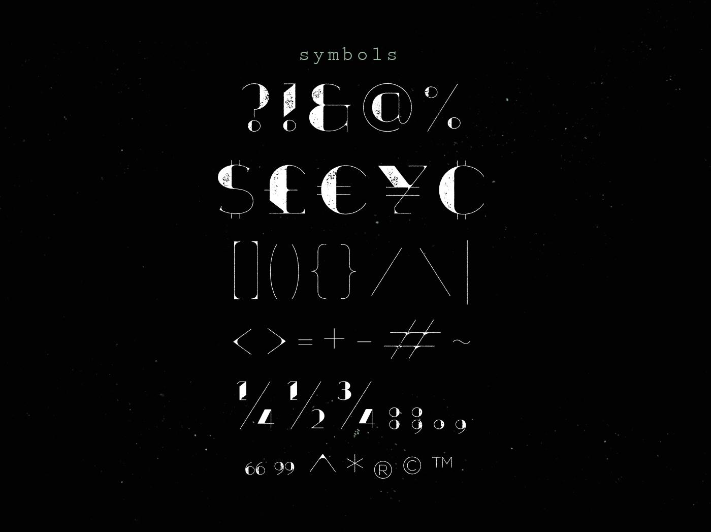 Xthlx – Free Futuristic Font Poster D