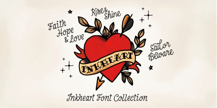 Inkheart – Handmade Font by Fenotype Poster C