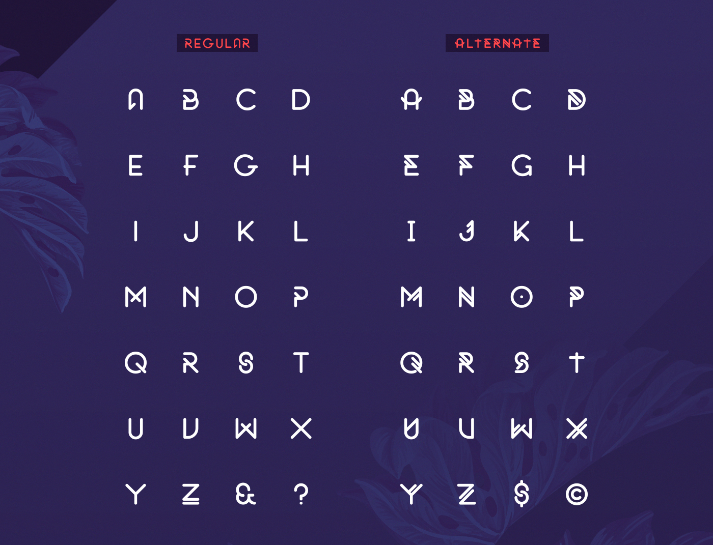 Original – Free Rounded Font Poster B