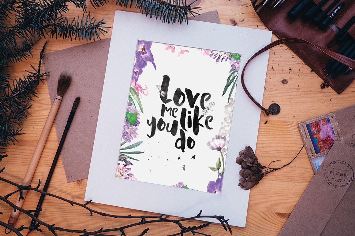 La Viola – Free Handmade Display Font Poster C