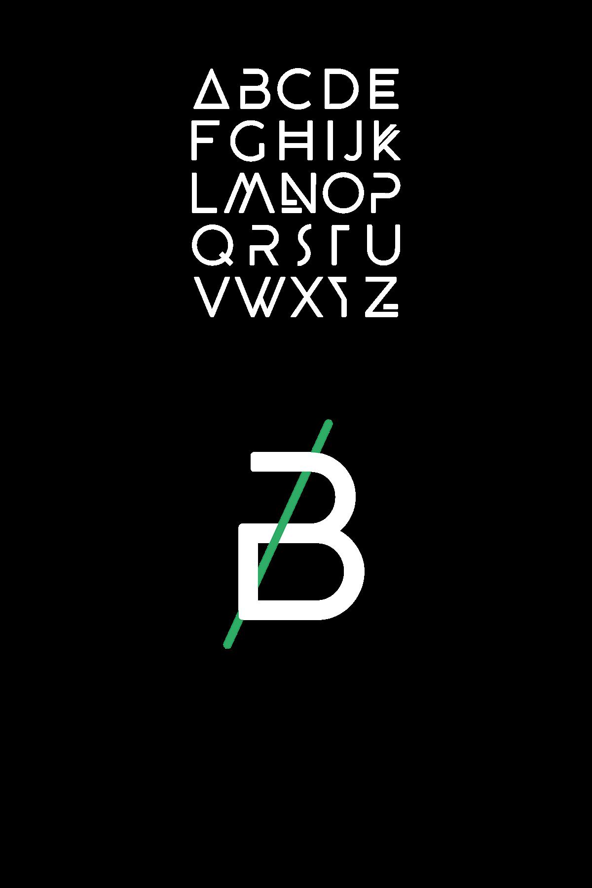 Beyno – Free Display Font Poster A
