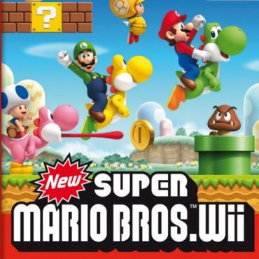 New Super Mario Bros Wii Font