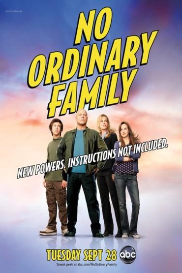 No Ordinary Family Font
