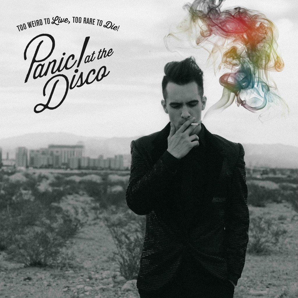 panic at the disco music logo