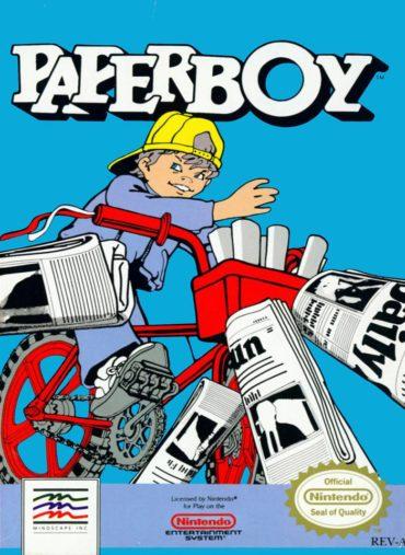 Paperboy (video game) Font