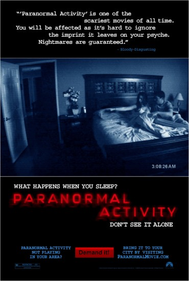 Paranormal Activity Font
