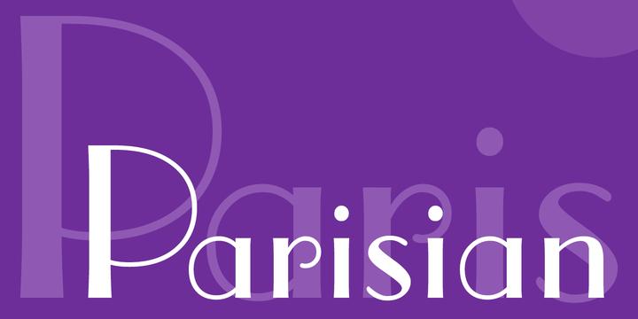 parisian-font