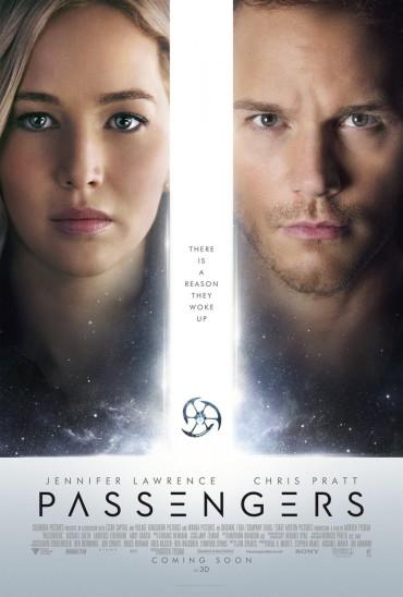 Passengers (film) Font