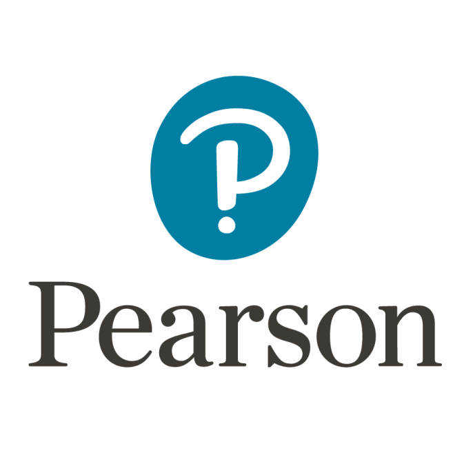 pearson 2016 new logo font