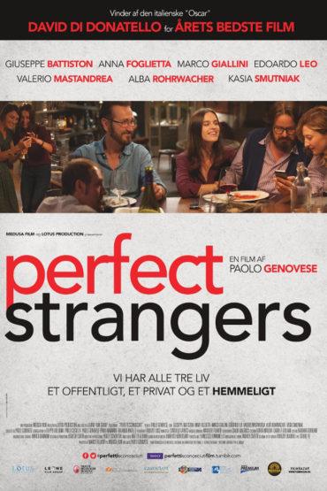 Perfect Strangers (film) Font