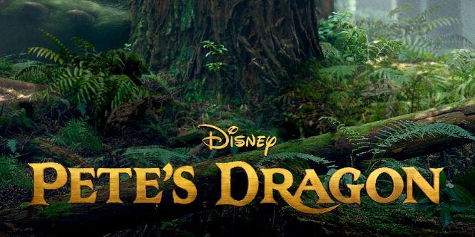Pete's Dragon 2016 Trailer Logo