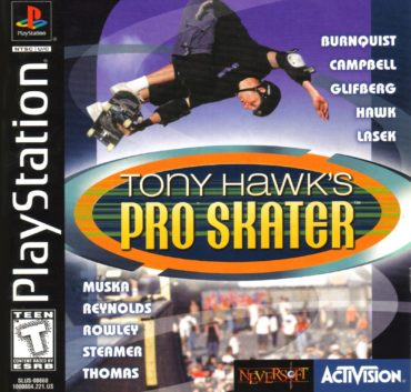 Tony Hawk's Pro Skater Font