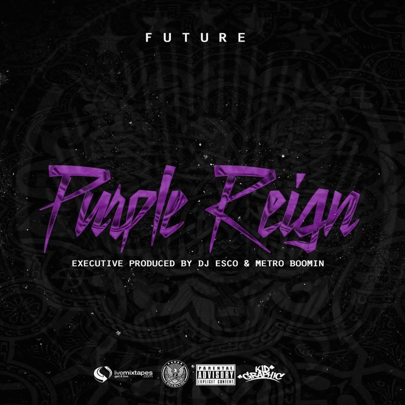 purple reign future mixtape font