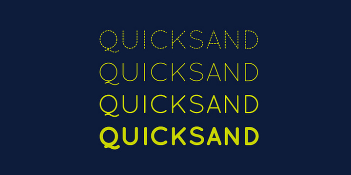 quicksand-font