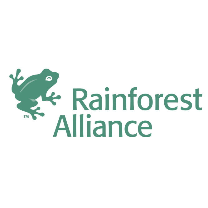 rainforest alliacne logo font