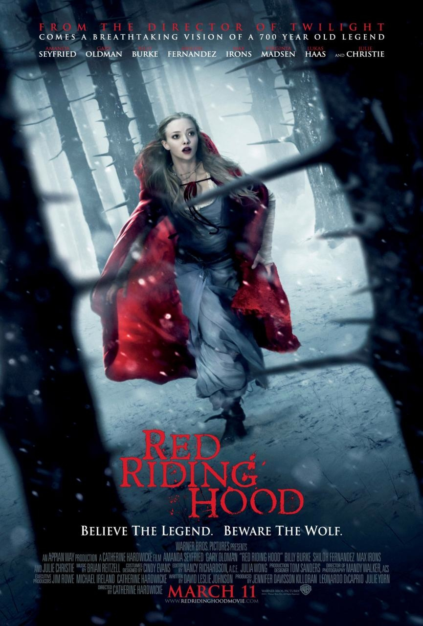 Red Riding Hood Movie Font
