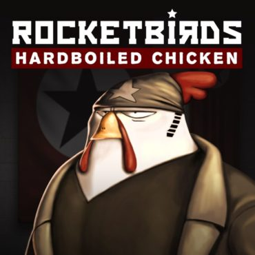 Rocketbirds Hardboiled Chicken Font