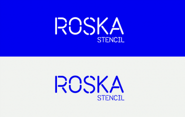 Roska – Free Rounded Stencil Font