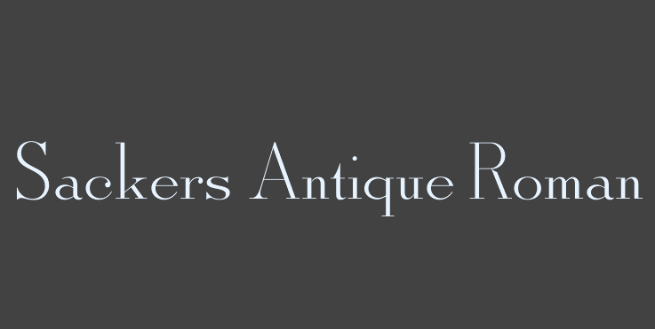 sackers-antique-roman-font