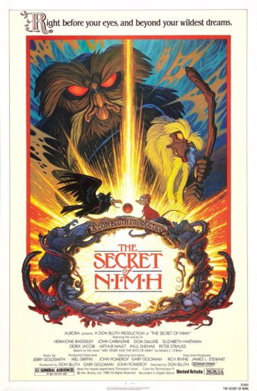 The Secret of NIMH Font