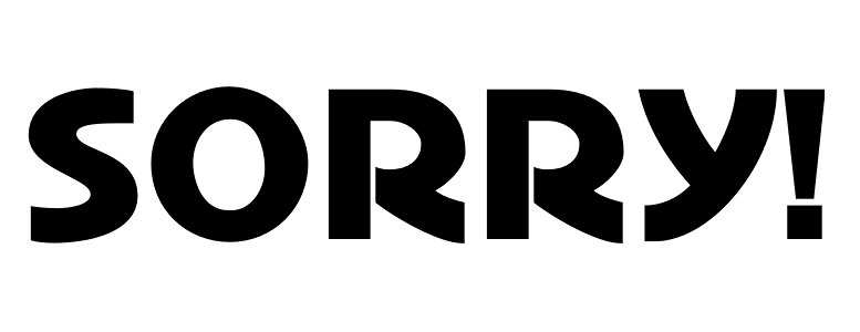 Sorry Board Game Font