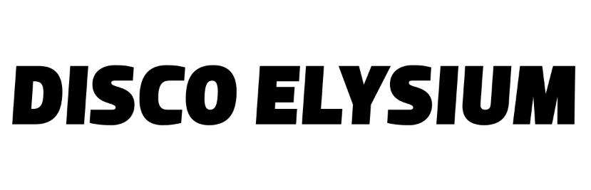 Disco Elysium Font