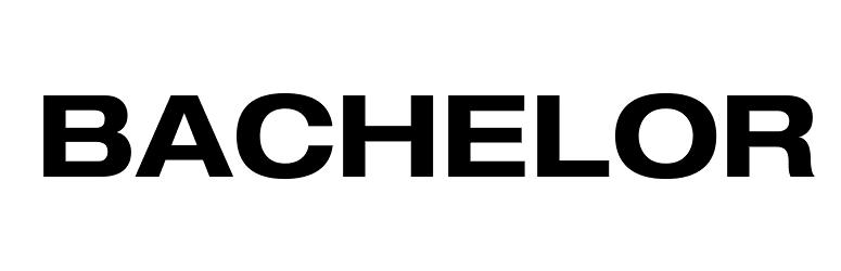 The Bachelor Font